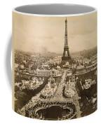 Eiffel Tower, Paris, 1900 Coffee Mug