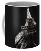Eiffel Tower Paris France Night Lights Coffee Mug by Patricia Awapara