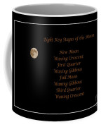 Eight Key Stages Of The Moon Coffee Mug