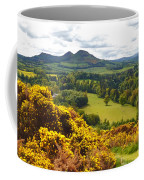 Eildon Hill - Three Peaks And A Valley Coffee Mug