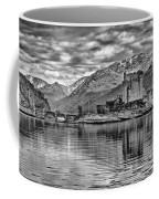 Eilean Donan - A Reflection Without Colour Coffee Mug