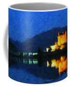 Eilean Donan At Night Coffee Mug