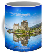 Eilean Donan Castle Reflections 2 Coffee Mug