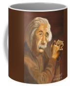 Einstein - Original  Oil Painting Coffee Mug