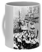 Eisenhower Victory Parade Coffee Mug