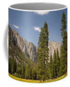 El Capitan And Yosemite Valley Coffee Mug