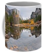 El Capitan Reflected In The Merced River Coffee Mug