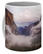 El Capitan Rises Over The Clouds Coffee Mug