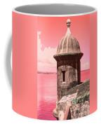 El Morro In The Pink Coffee Mug