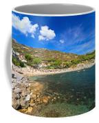 Elba Island - Beach In Seccheto  Coffee Mug