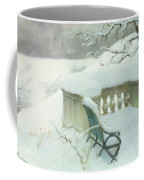 Elbpark In Hamburg Coffee Mug by Fritz Thaulow