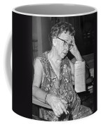 Elderly Woman At Hospital Coffee Mug