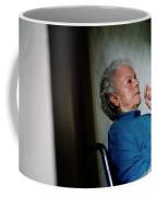 Elderly Woman Sitting In A Wheel Chair Coffee Mug