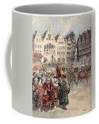 Election To The Empire The Procession Coffee Mug