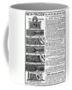 Electric Brushes, 1883 Coffee Mug
