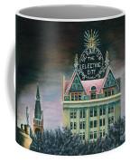 Electric City At Night Coffee Mug