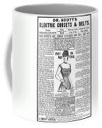 Electric Corset, 1887 Coffee Mug