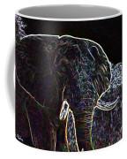 Electric Elephant Coffee Mug