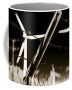 Electric Fence Duo Tone Coffee Mug