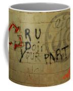 Electric Graffiti  Coffee Mug