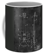 Electric Guitar Patent 039 Coffee Mug