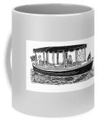 Electric Harbor Launch Coffee Mug by Jack Pumphrey