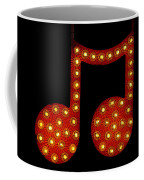 Electric Notes Coffee Mug