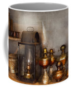 Electrician - A Collection Of Oil Lanterns  Coffee Mug by Mike Savad