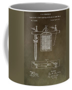 Electroplating Procedure Patent Coffee Mug
