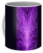 Electrostatic Purple Coffee Mug