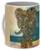 Elefantos - 01ac03at03b Coffee Mug by Variance Collections
