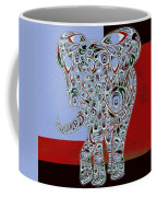 Elefantos - 01ac9at01 Coffee Mug by Variance Collections