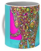 Elefantos - Bg01ac02 Coffee Mug by Variance Collections
