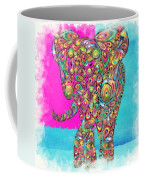 Elefantos - Ptw01a Coffee Mug by Variance Collections