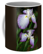 Elegant Purple Iris Coffee Mug