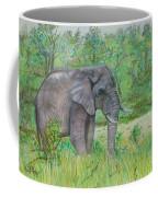 Elephant At Kruger Coffee Mug