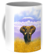 Elephant At Table Mountain Coffee Mug