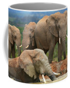 Elephant Bath Coffee Mug