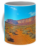 Elephant Butte From Wildcat Trail In Monument Valley Navajo Tribal Park-arizona   Coffee Mug