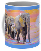Elephant Fantasy Must Open Coffee Mug