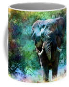 Elephant - Featured In Comfortable Art- Wildlife- And Nature Wildlife Groups Coffee Mug