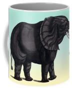 Elephant From The Historiae Animalium 16th Century Coffee Mug
