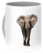 Elephant Isolated Coffee Mug