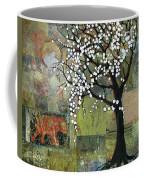 Elephant Under A Tree Coffee Mug
