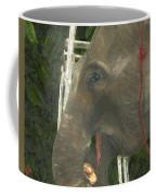 Elephant Under His Thumb Coffee Mug