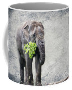 Elephant With A Snack Coffee Mug
