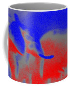 Elephants En Cavale Coffee Mug