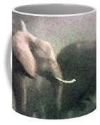Elephants On The Move Coffee Mug