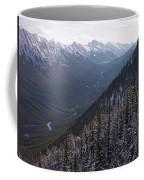 Elevated View Down U-shaped Valley Coffee Mug
