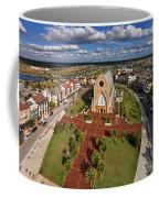 Elevated View Of Ave Maria Oratory Coffee Mug